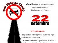 Dia Europeu sem Carro // 22 de Setembro 2015