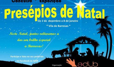 Concurso * Exposição – PRESÉPIOS DE NATAL