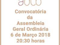 Convocatória da Assembleia – geral Ordinária